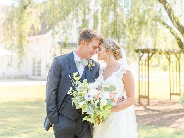 The wedding of Anna and Jordan