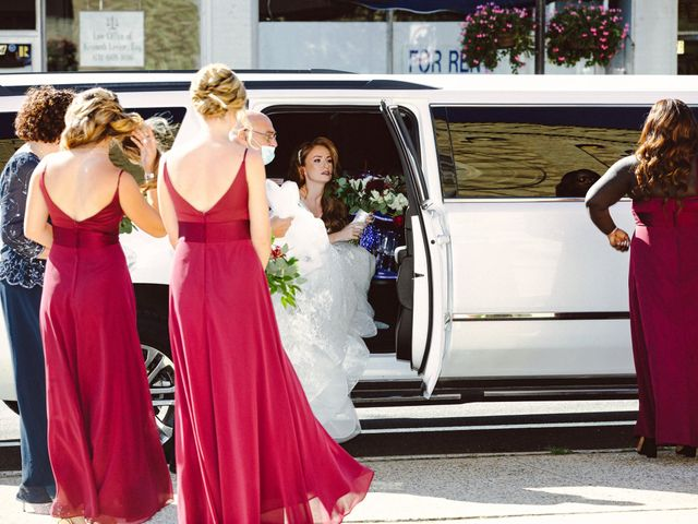 Peter and Meghan's Wedding in Great River, New York 20