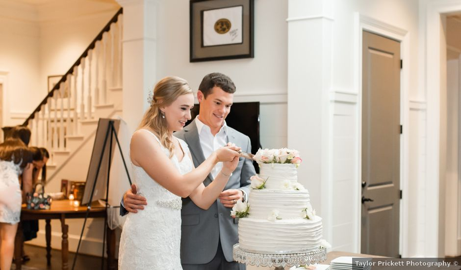 Brandon and Kristin's Wedding in Holly Springs, North Carolina