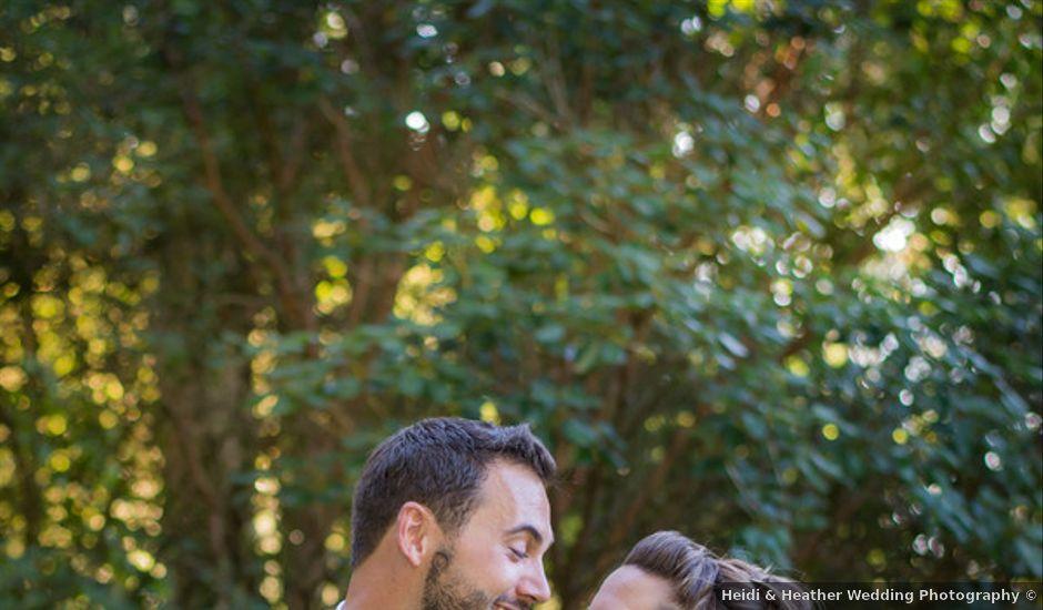 Annie and Benjamin's Wedding in Bridal Veil, Oregon