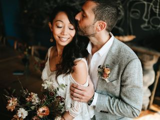 The wedding of Jeanelle and Christopher