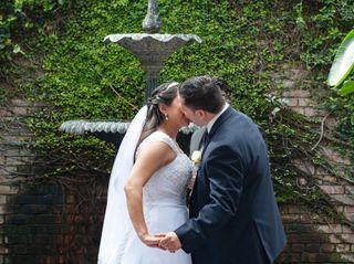 The wedding of Malaina and Michael