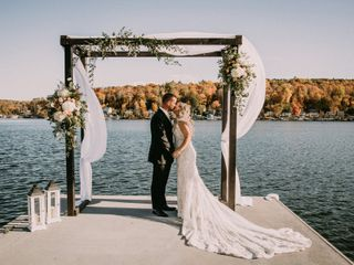 The wedding of Olivia and Dean