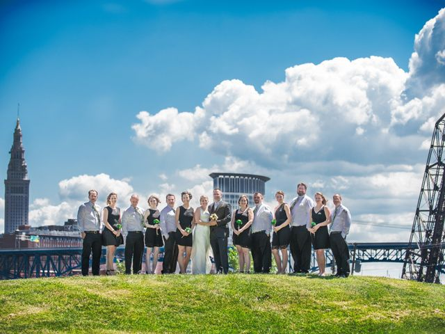 Joe and Cassie's Wedding in Cleveland, Ohio 16