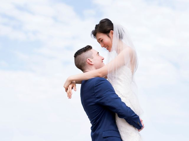 The wedding of HyoJin and Joe