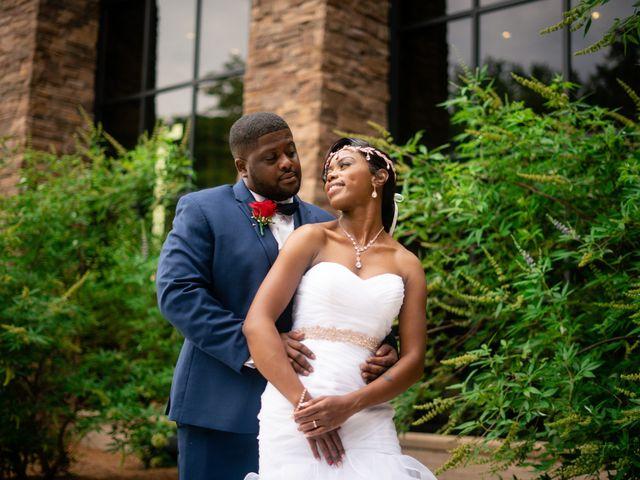 The wedding of Roxana and Wayne