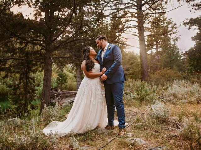 The wedding of Tim and Christine