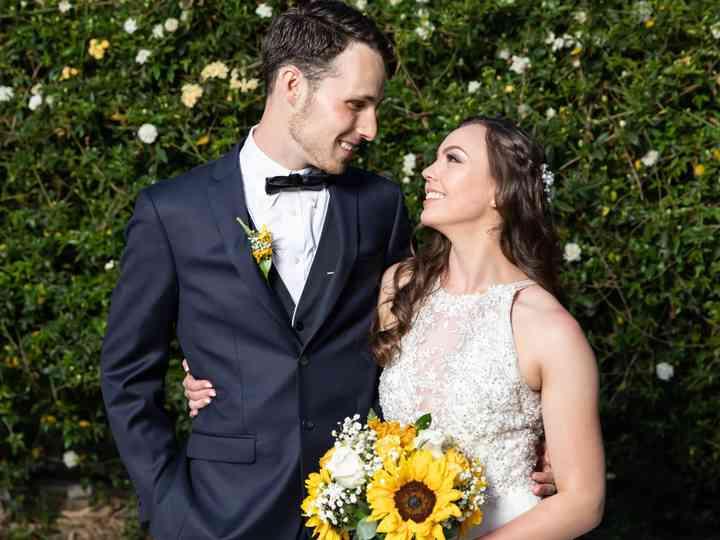 The wedding of Brandon and Angelina