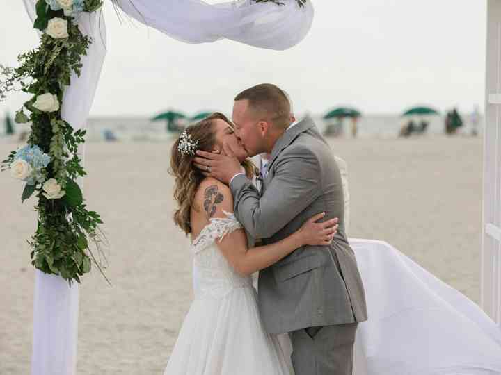 The wedding of Lindsey and Tj Belevender