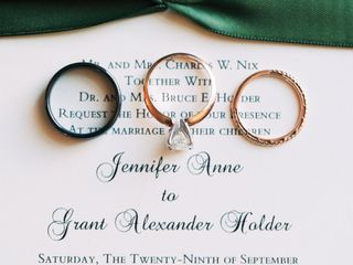The wedding of Grant and Jennifer 2