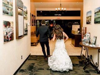 The wedding of Amaris and Sam 1