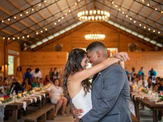 The wedding of James and Kayla 1