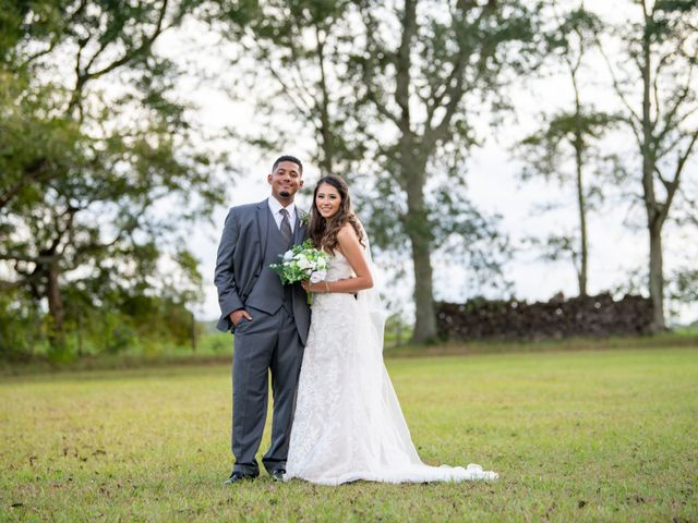 The wedding of James and Kayla