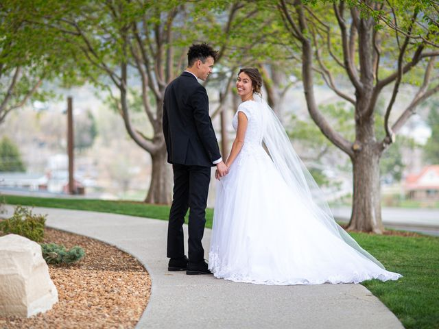 The wedding of Tyler and Sage