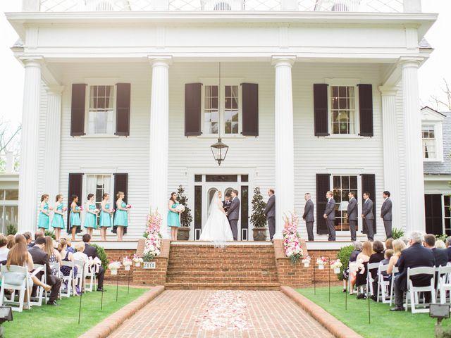 Jennifer and Jonathan's Wedding in Nashville, North Carolina 10