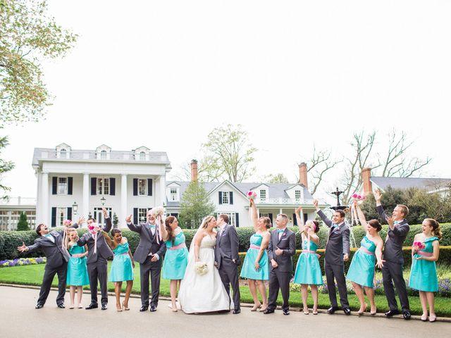 Jennifer and Jonathan's Wedding in Nashville, North Carolina 13