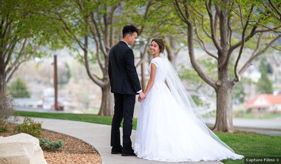 Sage and Tyler's Wedding in Manti, Utah