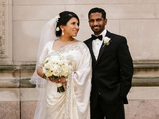 The wedding of Eranda and Geethika