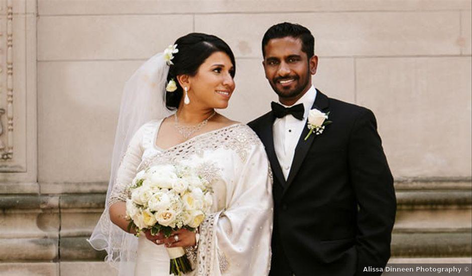 Geethika and Eranda's Wedding in New Hartford, Connecticut