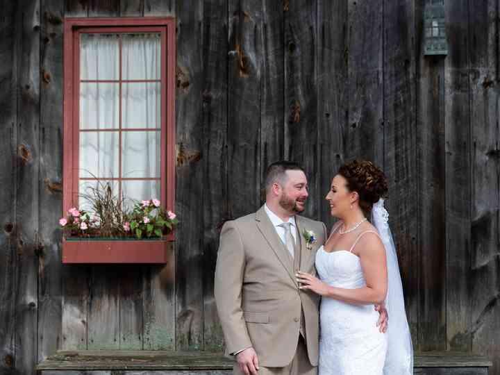The wedding of Kristen and Joe