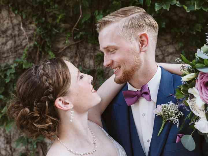 The wedding of Joslyn and Dan