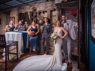 The wedding of Monika and Brett 1