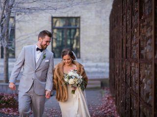 The wedding of Monika and Brett