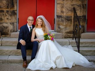 The wedding of Hannah and John