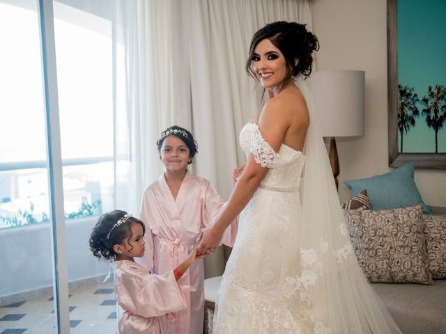 Alex and Maribel's Wedding in Cancun, Mexico 16