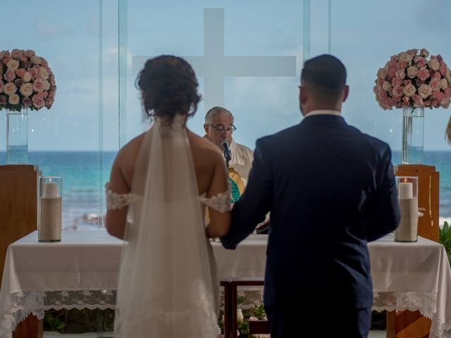 Alex and Maribel's Wedding in Cancun, Mexico 19
