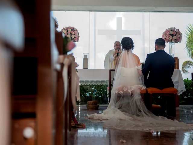 Alex and Maribel's Wedding in Cancun, Mexico 23