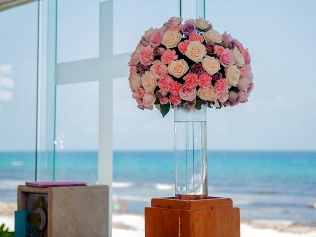 Alex and Maribel's Wedding in Cancun, Mexico 24