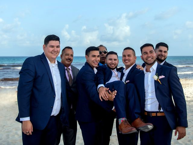 Alex and Maribel's Wedding in Cancun, Mexico 34