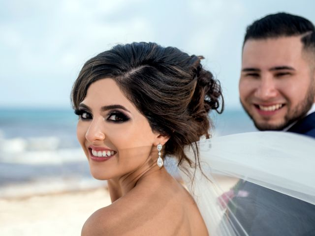 Alex and Maribel's Wedding in Cancun, Mexico 35