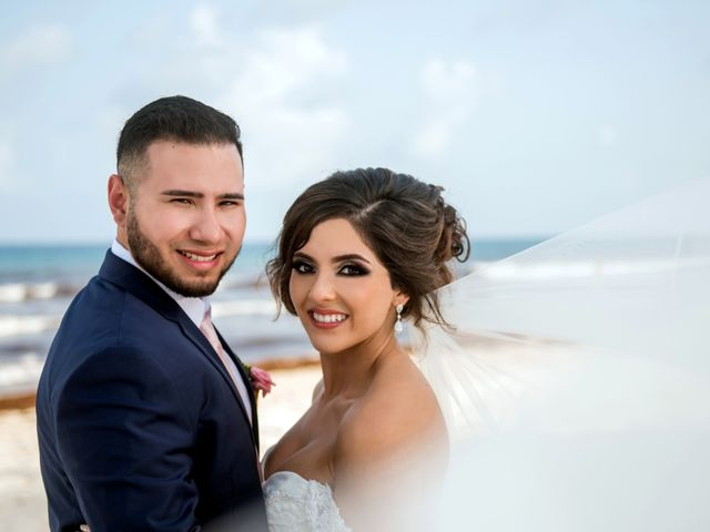 Alex and Maribel's Wedding in Cancun, Mexico 36