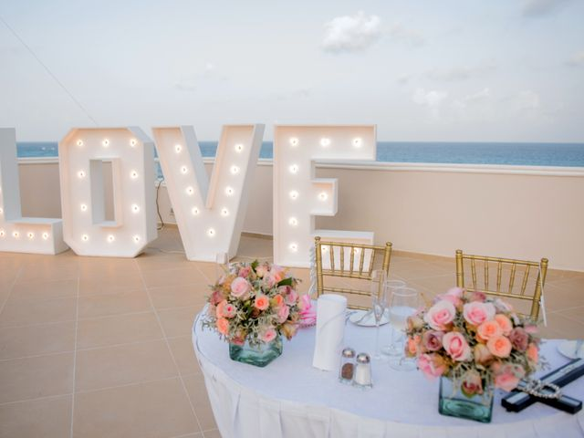 Alex and Maribel's Wedding in Cancun, Mexico 41