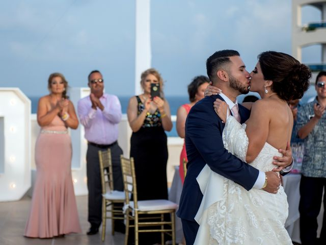 Alex and Maribel's Wedding in Cancun, Mexico 43