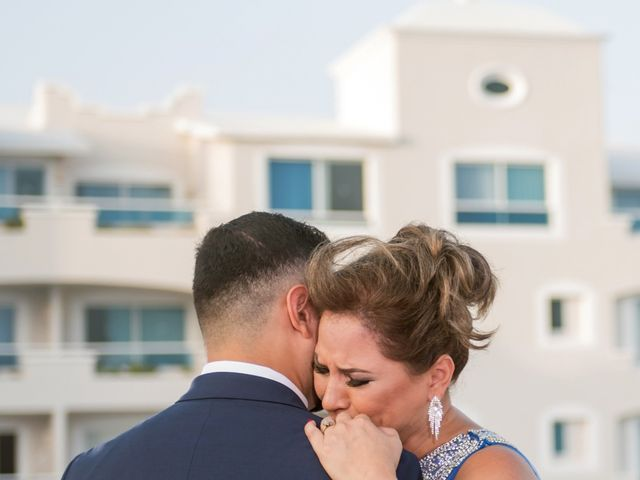 Alex and Maribel's Wedding in Cancun, Mexico 45