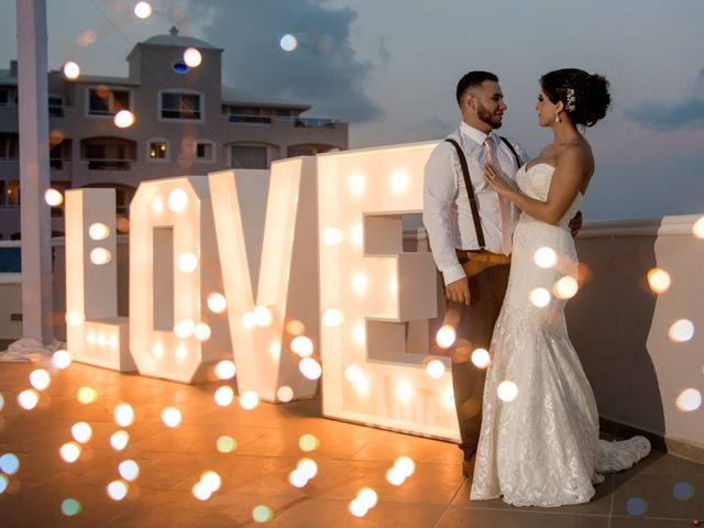 Alex and Maribel's Wedding in Cancun, Mexico 46