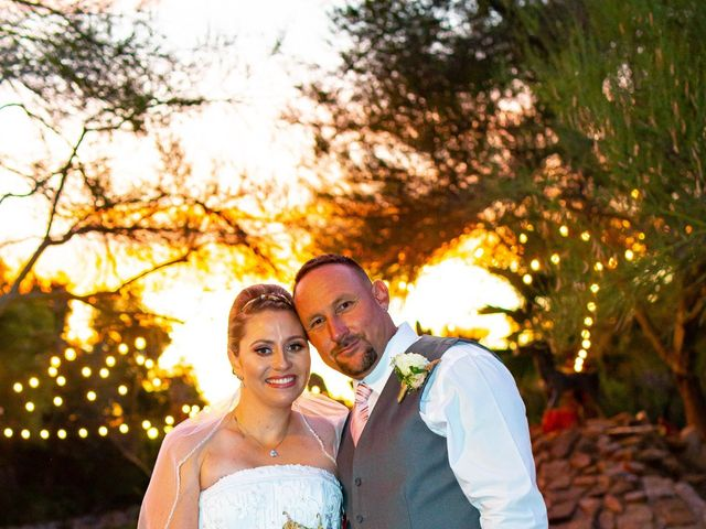 Tami and Johnathan's Wedding in Tucson, Arizona 7