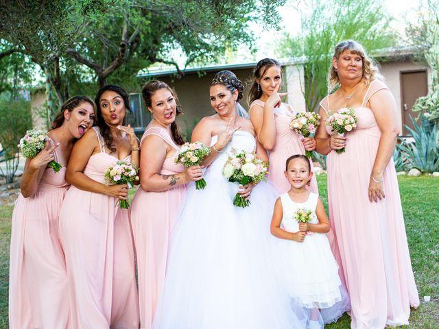 Tami and Johnathan's Wedding in Tucson, Arizona 14
