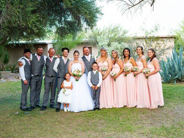 Tami and Johnathan's Wedding in Tucson, Arizona 16