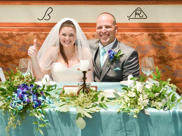 The wedding of Helen and John