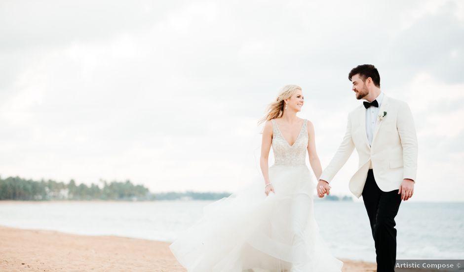 Andrew and Mindy's Wedding in Rio Grande, Puerto Rico