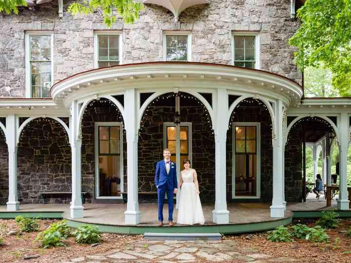 The wedding of Brad and Stephanie