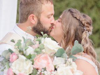 The wedding of Kiralynn and Chris