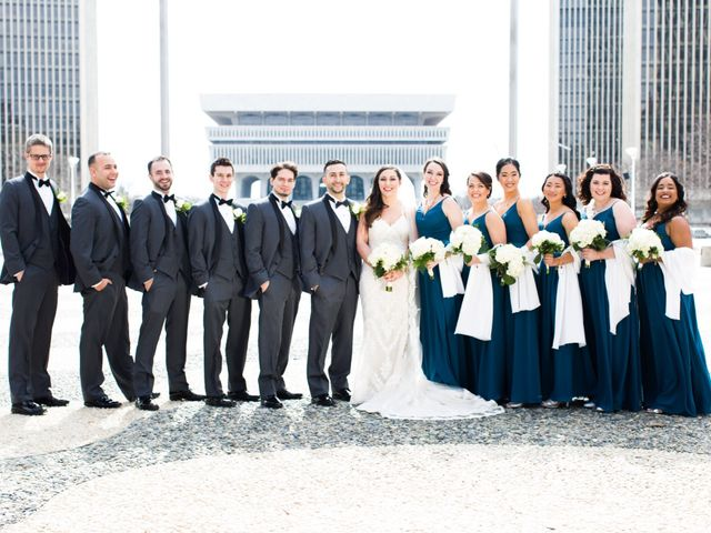 Jeremy and Alaina's Wedding in Albany, New York 16