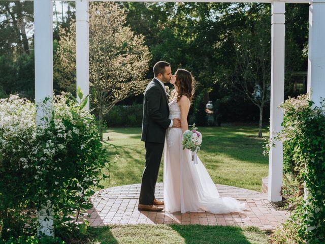 The wedding of Myles and Jessie