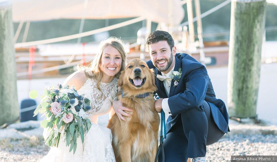Liz and Sam's Wedding in Stonington, Connecticut