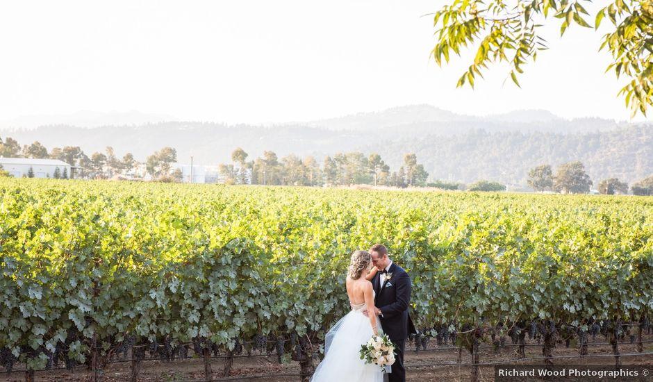 Bryce and Kathleen's Wedding in Saint Helena, California